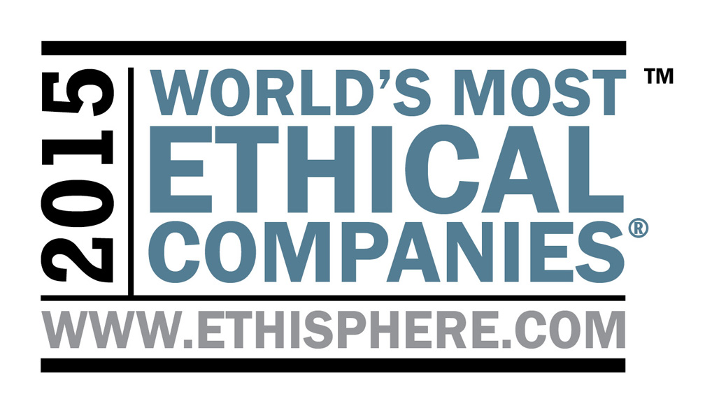 画像:World's Most Ethical Companies 2015ロゴ